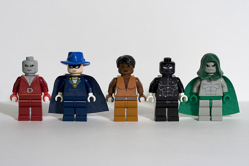 DC Hero Minifigs - Wave 7