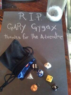 R.I.P. Gary Gygax