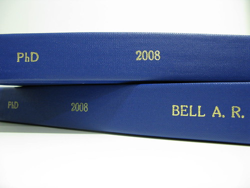 Get phd thesis published