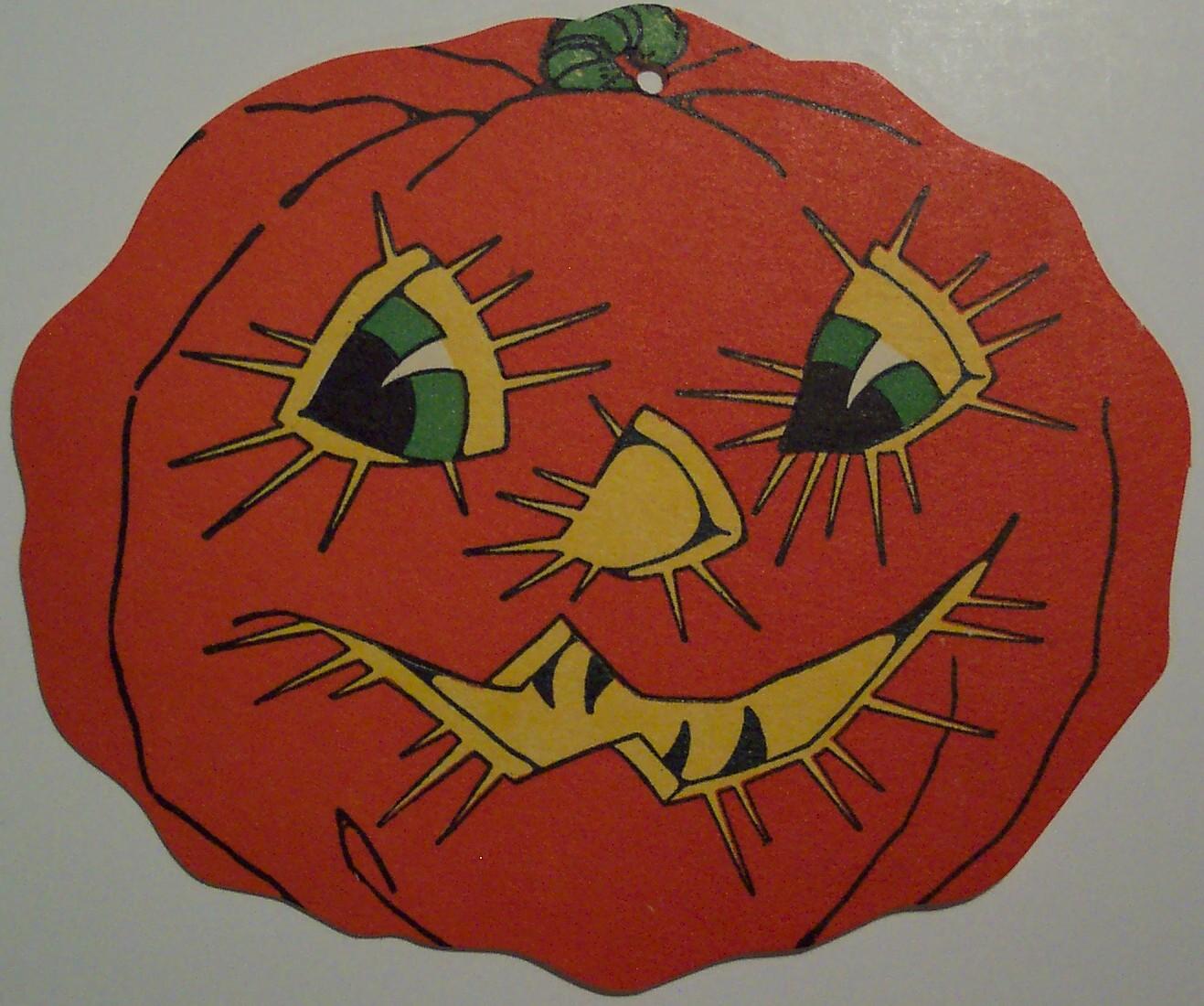 Vintage Halloween Cut Out Jack O Lantern Flickr