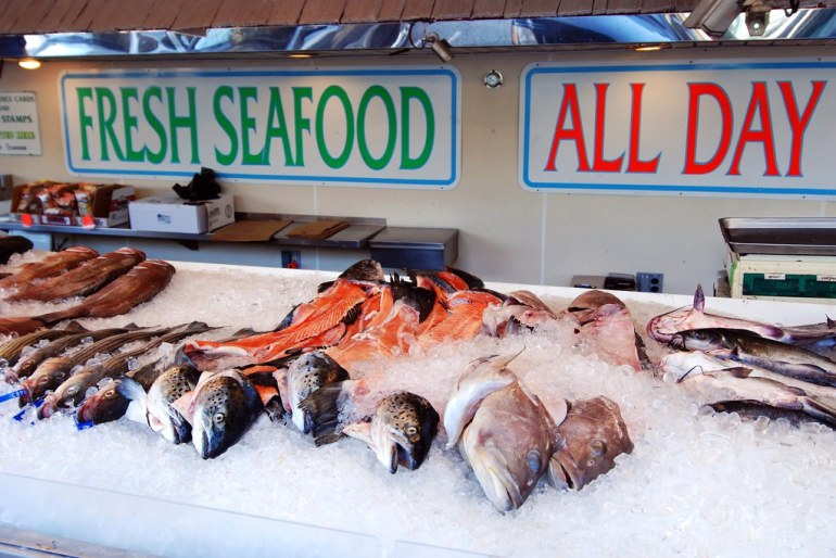 Fresh Seafood All Day