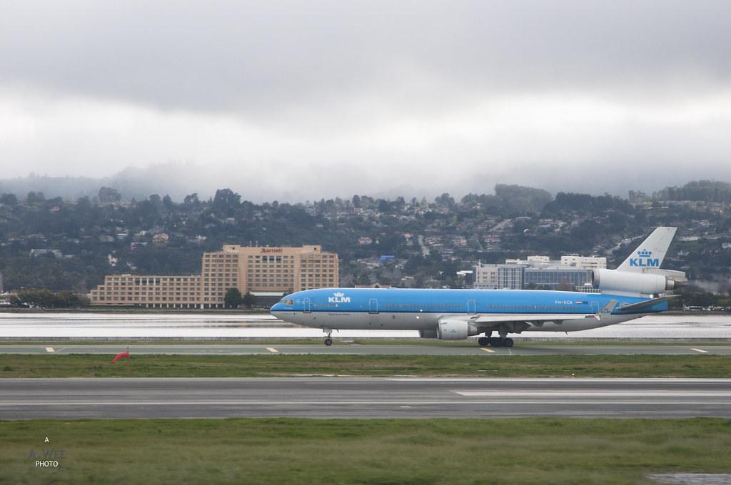 KLM at SFO