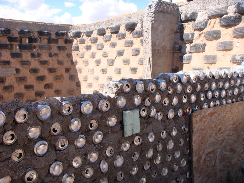 Image result for Earthship construction