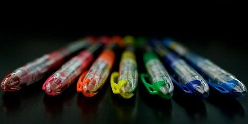 Seven Pens