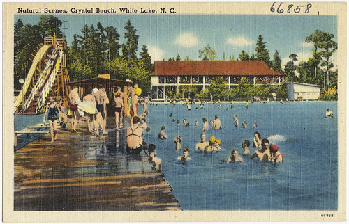 Natural scenes, Crystal Beach, White Lake, N. C.