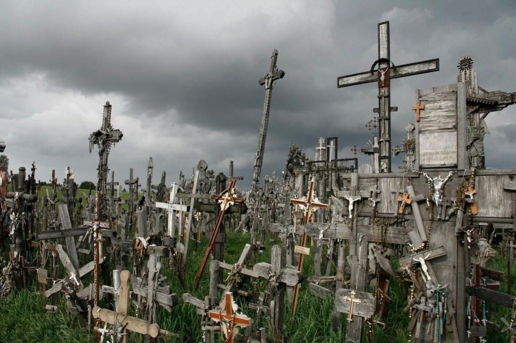 Siauliai, hill of crosses 2