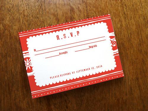 Printable Wedding RSVP - Papelo