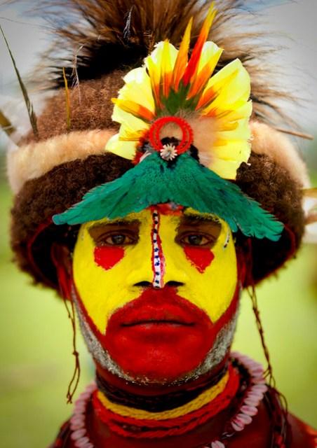 Huli Wigman Papua New Guinea