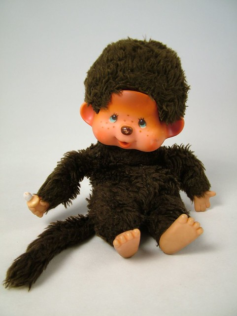 Chic A Boo Photo Of Monchhichi Monkey Toy Taken From Tv