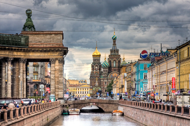 Church on Spilled Blood & Canal Griboedov