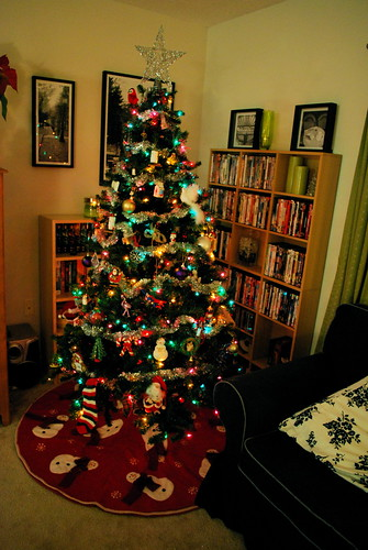"""My Christmas Tree"" by wolfsavard; image from Flickr."