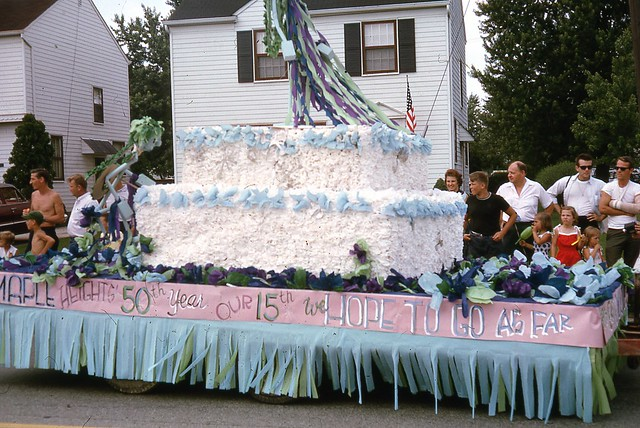 Maple Heights July 4th parade 1965 Libby Rd