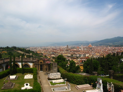 view from San Miniato al Monte by Sean Munson, on Flickr