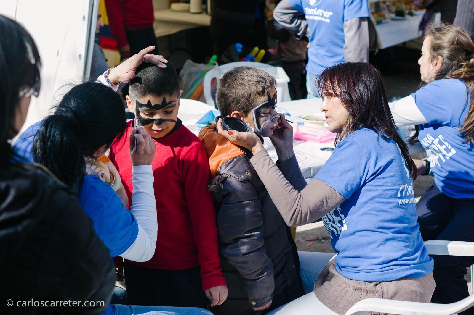 Celebración de la Cincomarzada en el Parque del Tío Jorge
