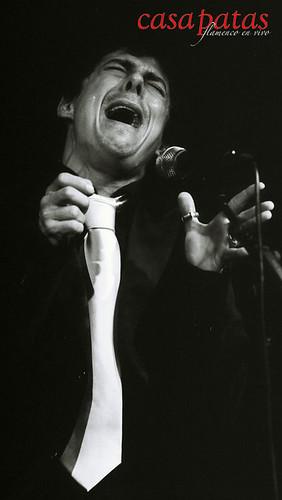 El cantaor Roberto Lorente. Foto: Martín Guerrero