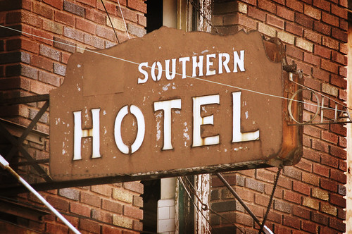 Southern Hotel Sign