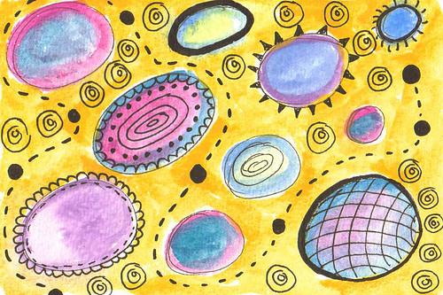 yellow planets