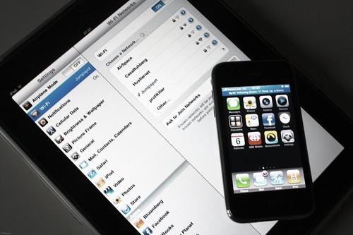 iPhone as WiFi-Hotspot