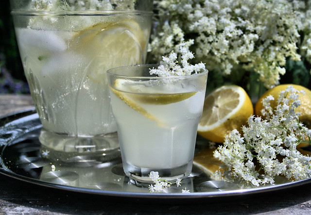 Old Fashioned Elderflower Cordial