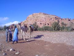 Ksar UNESCO de Ait Benhaddou em Ouarzazate, Marrocos