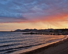 Cannes - Sunset