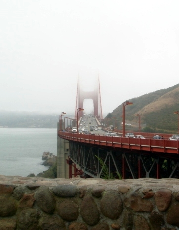 The Golden Gate Bridge is Red
