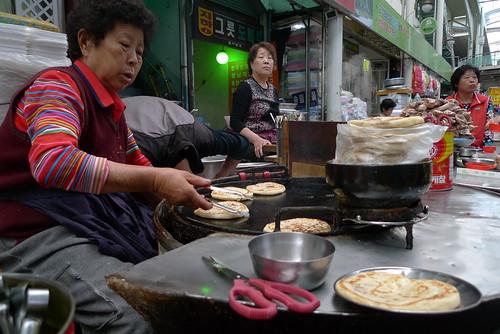 Korean Pancake Breakfast by jgamboa