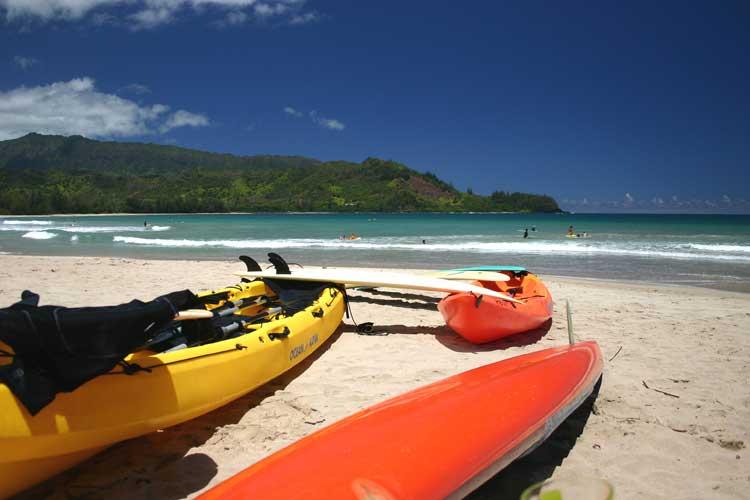 Have fun with Kayak Hanalei