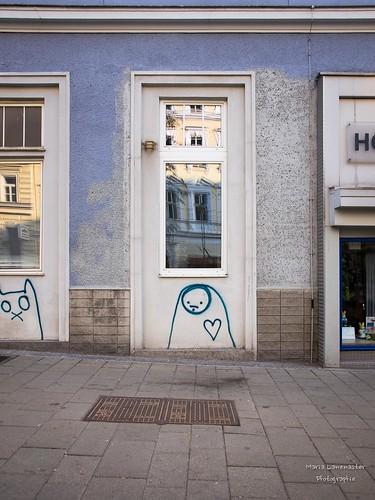 In den Straßen von Wien ...