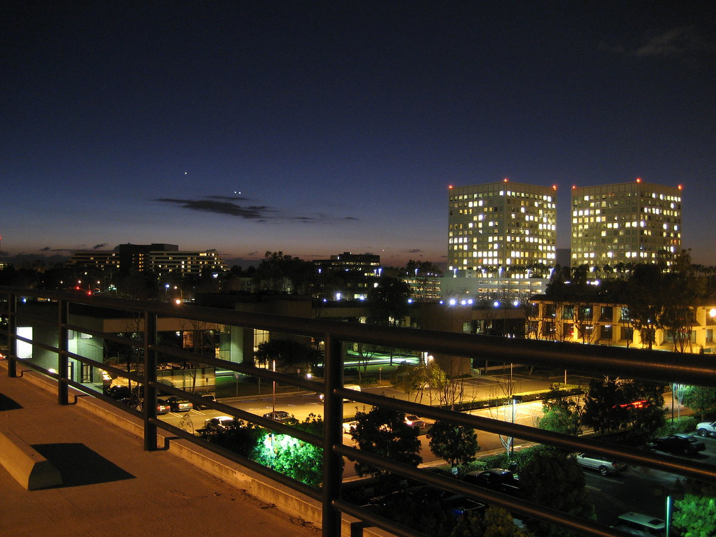Irvine at Night