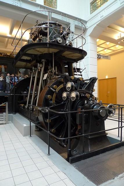 Grazer Diesel, 1915. Technisches Museum Wien