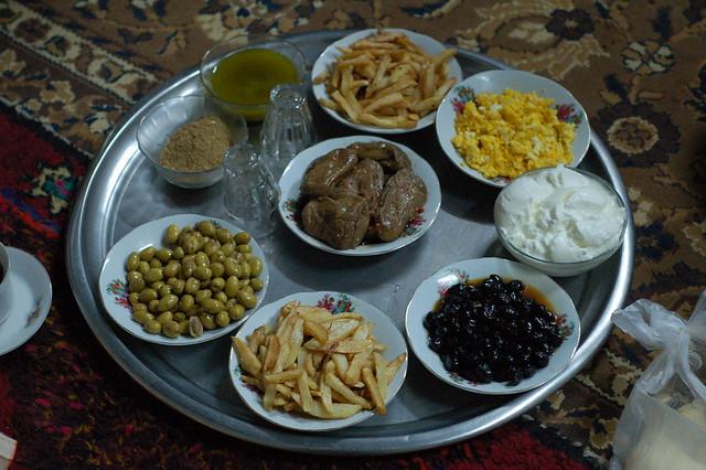 Dinner in Syria