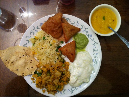 Homemade Indian food