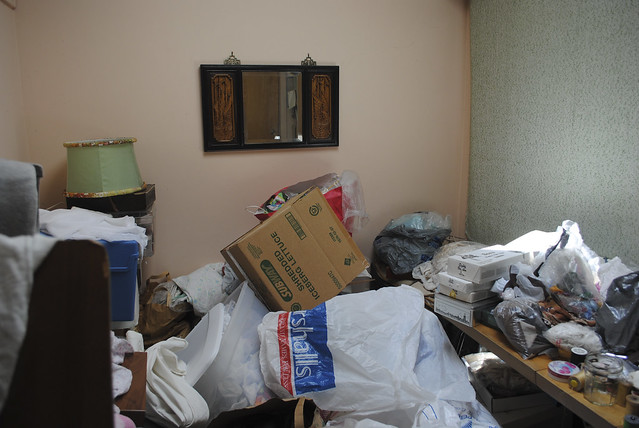 Grandma's Sewing Room - Before
