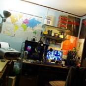 Workstation/Ham RadioShack.