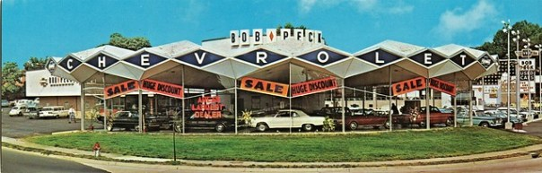 Bob Peck Chevrolet - Arlington, Virginia U.S.A. - 1964