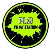 plg print station logo.