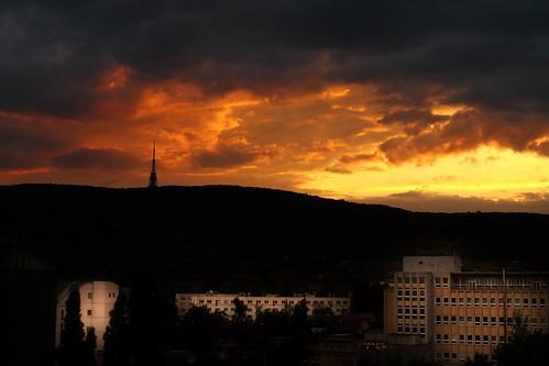 From Jacques' Balcony (Brastislava) - Photo : Gilderic