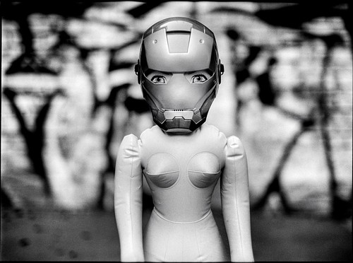 iron man | rubber woman