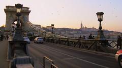 Budapest: ponte delle catene.