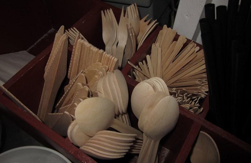 Wooden Eating Utensils
