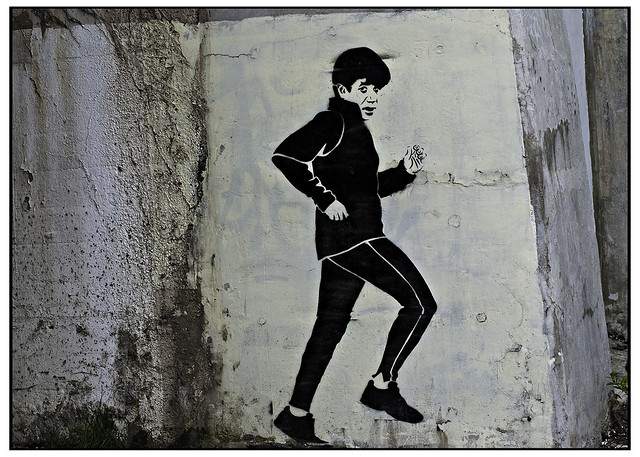Blago Jogging on May Street
