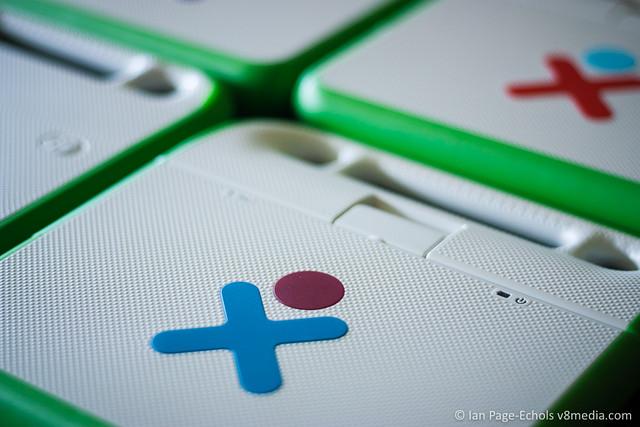 OLPC XOs top case