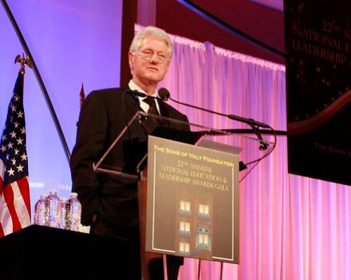 President Clinton - 2010 SIF Lifetime Achievement Award for Public Service