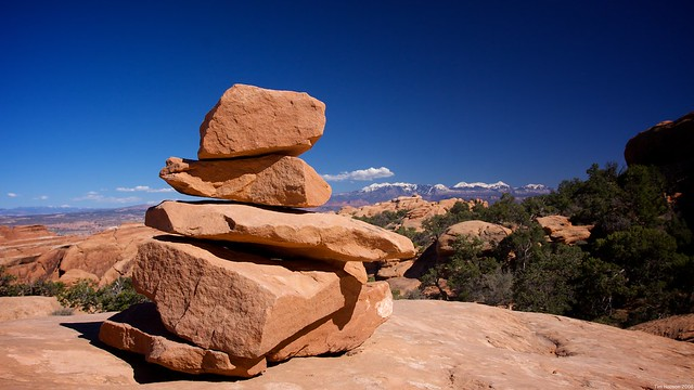 Cairn, Arches NP, UT