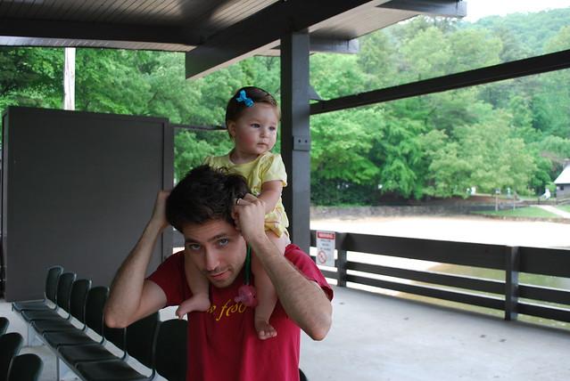 Savannah and Daddy