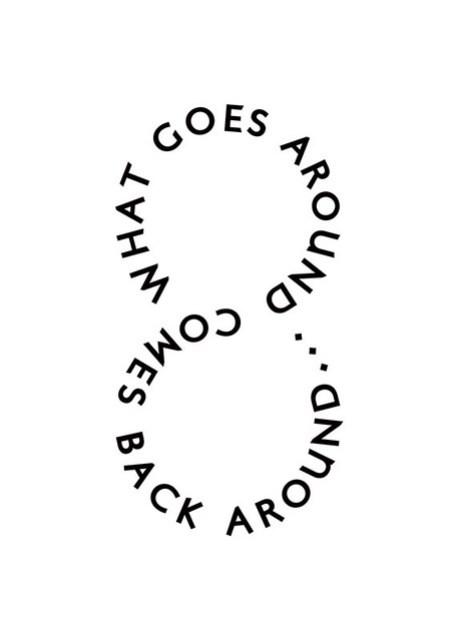 Karma - Black on White Version