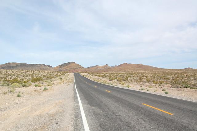 strade deserte americane