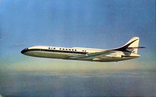 An Air France Sud Caravelle