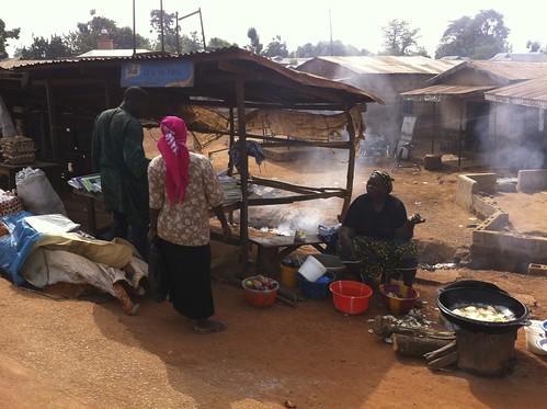 Fried Yams Kafanchan Kaduna State Nigeria by Jujufilms